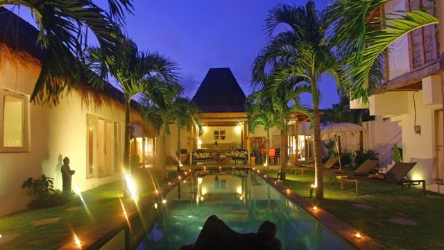 For Rent Bali Villa Palm Tree 4 Bedrooms House Renting