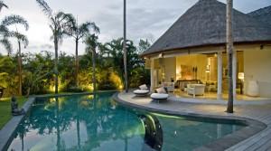 Location Bali Villa Bill Tiga (3 chambres)