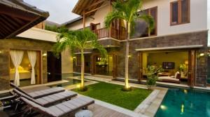 400 000 Euros – Villa 3 chambres à Seminyak (Réf: SEMIMART)