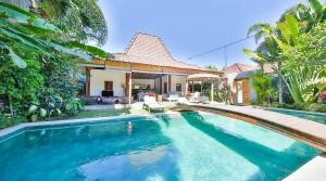 Location Bali Villa Dany Satu (4 chambres)