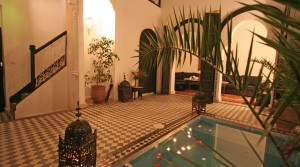 Location Marrakech Riad Zarana (3 bedrooms)