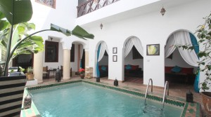 Location Marrakech Riad Zara (4 chambres)