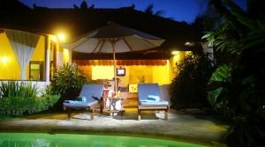 Location Bali Villa Dia Satu (1 chambre)