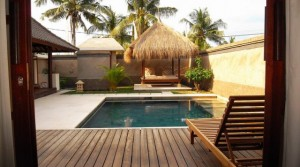 Location Villa Beach Gili Dua (2 chambres)