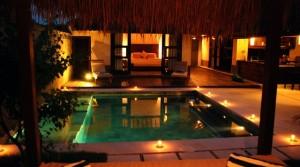 Location Villa Beach Gili Satu (1 chambre)