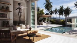 Location Thailande Koh Samui Villa Hibiscus (3 chambres)