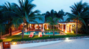 For rent – Thailand Koh Samui Beach Villa 01 (4 bedrooms)