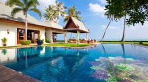 For rent Thailand Koh Samui Beach Villa 04 (6 bedrooms)