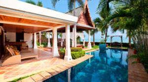 For Rent Thailande Koh Samui Beach Villa 02 (4 bedrooms)