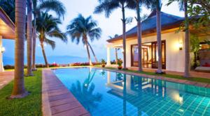 Location Thailand Koh Samui beach villa 7 (5 chambres)
