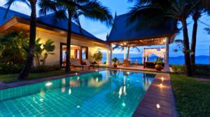 Location Thailande Koh Samui beach villa 08 (4 chambres)