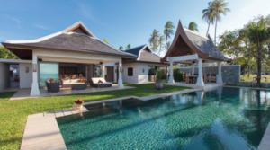 Location Thailande Koh Samui beach villa 10 (7 chambres)