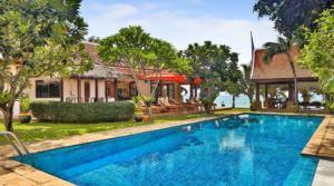 Location Thailande Koh Samui beach villa 09 (5 chambres)