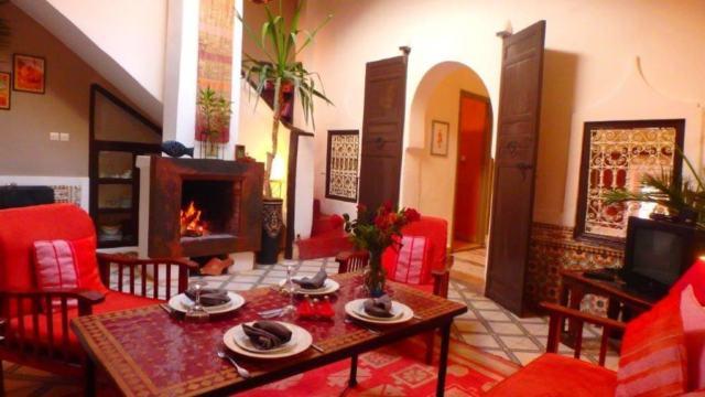 Marrakech Douiria Riad Location chambresHouse Jdida3 exrBdCo