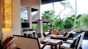 Location Ubud Villa River (4 chambres)