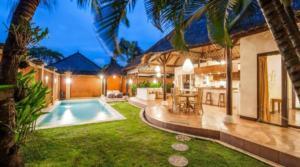 Location Seminyak Villa Alice Satu (2 chambres)