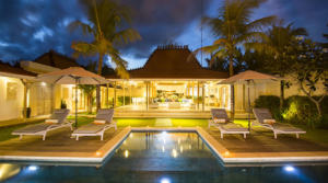 For rent Bali Canggu Villa Semy (4 bedrooms)