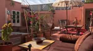 Location Marrakech Riad Dewy (3 chambres)