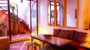 For rent Marrakesh Riad Douiria Maada (2 bedrooms)
