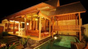 Location Bali Villa Wood (3 chambres)
