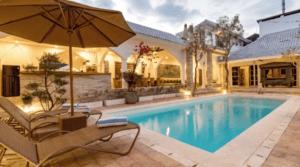 Location Bali Villa Niluh (4 bedrooms)