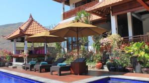 For rent BALI – Villa Lisa Empat Amed (4 CHAMBRES)