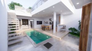 59 000 Euros – 1 bedroom villa in Babakan (Ref: Babakan AB)
